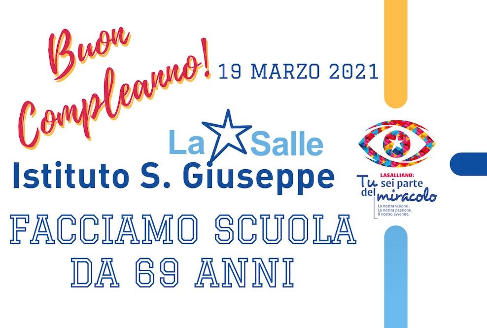 Istituto San Giuseppe La Salle Milano Compleanno 69