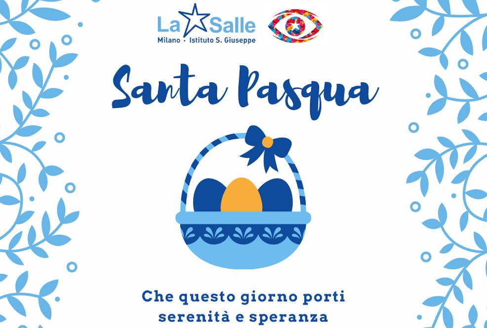 Istituto San Giuseppe La Salle Milano Santa Pasqua 2021 Auguri_Head